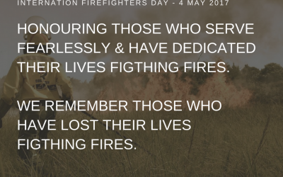 International Firefighters day- 4 May 2017