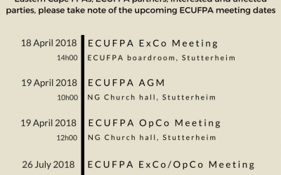 ECUFPA News – 18 January 2018