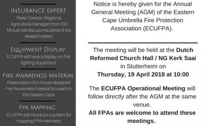 ECUFPA AGM Notice