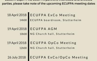 ECUFPA News – 18 January 2018